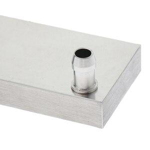Image 3 - Alluminio 2 Vie Blocco di Raffreddamento Ad Acqua CPU Graphics Radiatore Del Dissipatore di Calore 40x120mm