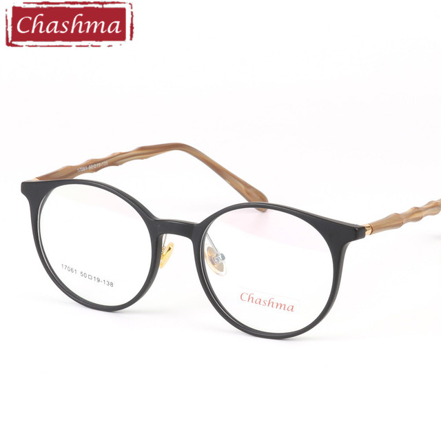 f902e7386d Chashma Brand 2018 New Fashion Vogue Eyewear Round Glasses Women Eyewear  Men and Women Frames Designer Retro Light Eyeglasses