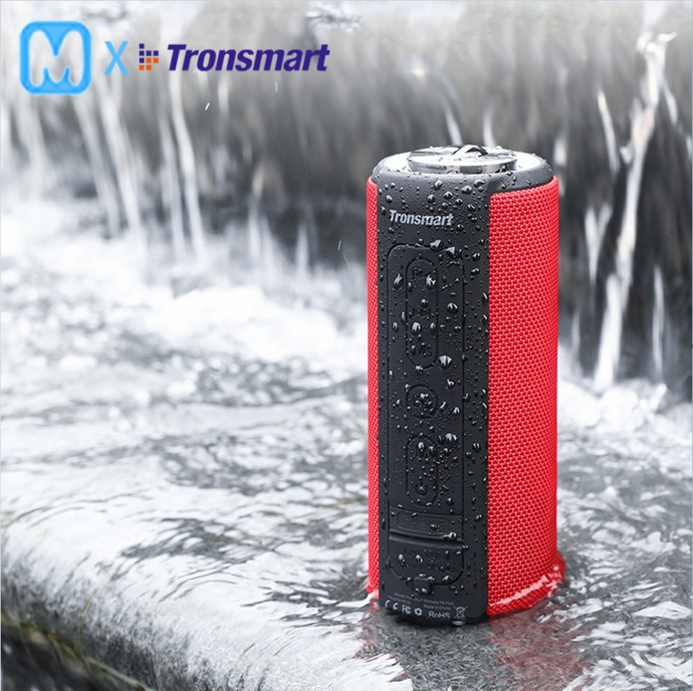 Tronsmart T6 Plus Bluetooth Speaker 40W Portable Speaker Deep Bass Soundbar with IPX6 Waterproof, Power Bank Function SoundPulTronsmart T6 Plus Bluetooth Speaker 40W Portable Speaker Deep Bass Soundbar with IPX6 Waterproof, Power Bank Function SoundPul