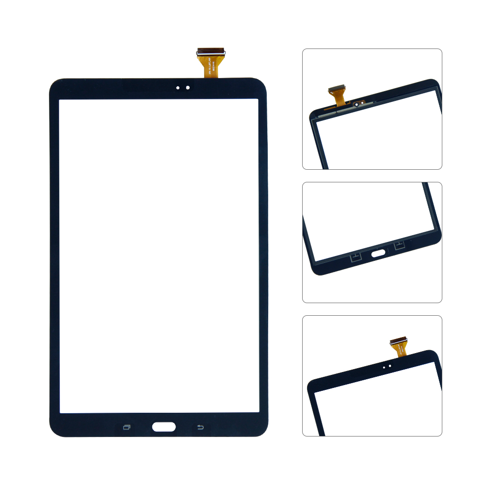 10.1'' Touch Screen For Samsung Galaxy Tab A 10.1 T580 T585 SM-T580 SM-T585 Digitizer Glass Digitizer Panel Replacement srjtek 10 1 for samsung galaxy tab a 10 1 t580 t585 sm t580 sm t585 touch screen digitizer sensor glass panel tablet replacement