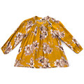 Girls Blouse Fashion Kids Shirts Clothes for Girls Long Sleeve Floral Print School Blouses for Girls Buttons Tops Poplin 2-10Y