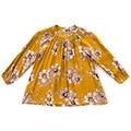 Niñas Blusa de La Manera Camisas de Los Niños Ropa de Niñas de Manga Larga con Estampado floral Blusas Escolares para Niñas Popelín Botones Tops 2-10Y