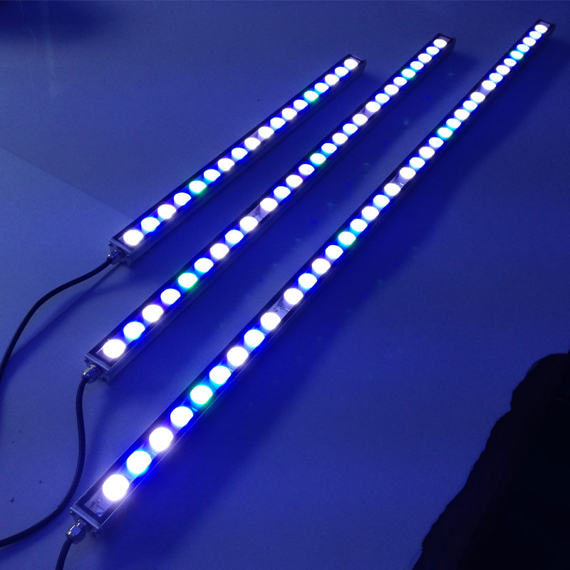 54W/81W/108W Led light strip Waterproof IP65 LED aquarium light bar for reef coral growth fish tank lamp led lighting for home 10pcs lot 54w 18 3w waterproof led aquarium bar light strip lamp for reef coral growth plant fish tank lighting marine