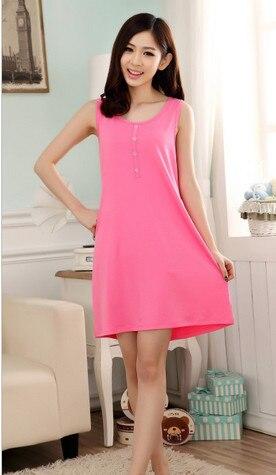 2017 Fashion NEW Women's Sleepwear   nightgown   Women's Home Clothes   sleepshirt   nightdress Free Shipping