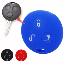 FOR MERCEDES BENZ Smart City Roadster FORTWO 3 Button Car Key Case Cover