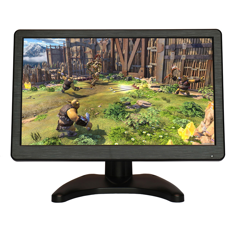 Zhixianda monitor 11.6 inch/12.1 inch wide lcd monitor 16:9 ips lcd monitor with resolution 1366*768 for game цена 2017