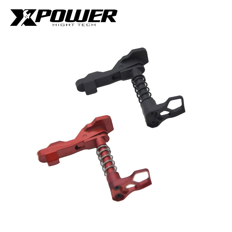 XPOWER Magazine Release AEG Gel Blaster Airsoft Card Falcon Mag Release Button Pressure Casting Paintball Accessories Air Gun-in Paintball Accessories from Sports & Entertainment
