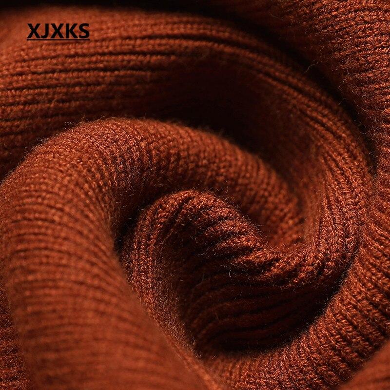 longueur Femmes Nouvelle Haut Xjxks Split D'hiver Lâche Cachemire marron Mode Fourche Gamme Noir Robe ardoisé Chaud De Grande 2018 Genou Taille MUpGzLSqV