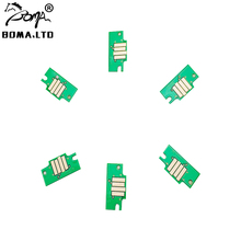 HOT Sale !! 1 Set PFI 102 PFI-102 ARC Auto Reset Cartridge Chip For Canon iPF 710 700 720 605 600 510 500 Printer