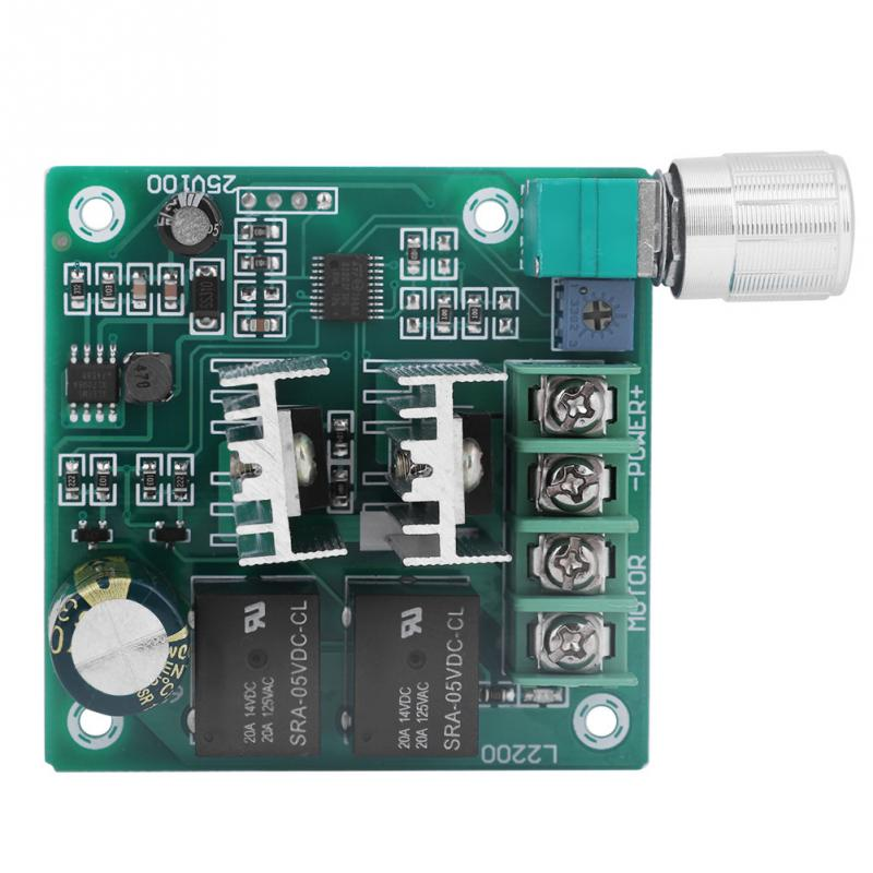 1 Pc Dc Brushed Motor Speed Controller Motor Governor 6-60v 10a Automatic Cw/ccw Rotation Regulator Speed Regulator Home Improvement Dc Motor