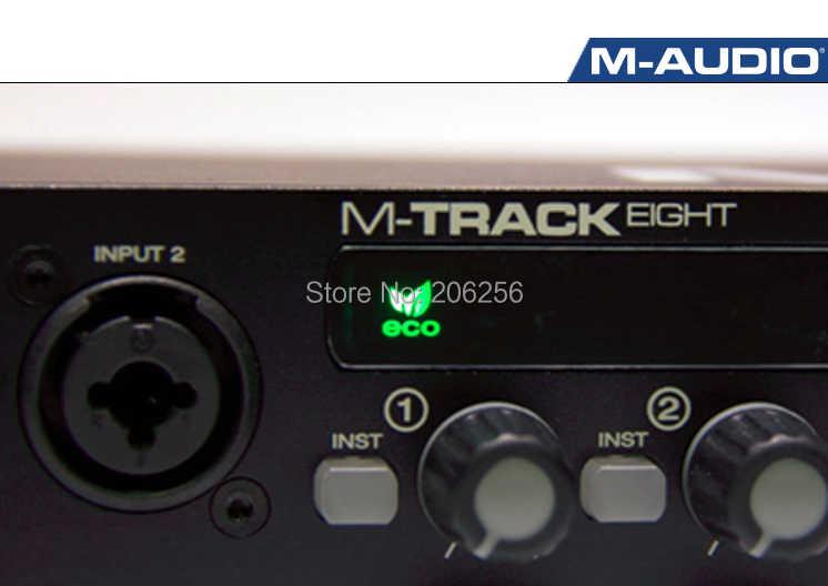 m-audio m-track eight