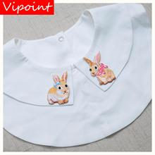 VIPOINT embroidery rabbit patch cartoon animal patches badges applique for clothing LX-5