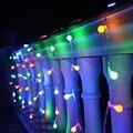10 m 20 m LED Año Nuevo Guirnalda de Navidad LED Luces Al Aire Libre Luces de Hadas de la Fiesta De Navidad Para Exteriores Decoraciones de la boda