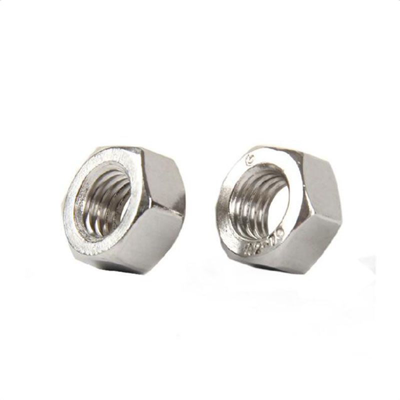 100pcs/50pcs/20pcs M2 M2.5 M3 M4 M5 DIN934 /GB52 Stainless Steel 304 Hex Nut Lock Nut Self-Locking Nut