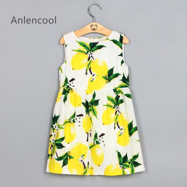 c7e3c6a8c Anlencool Brand Girls Dress Princess Dresses Kis Clothes Sleeveless ...