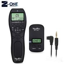 YouPro MC 292 S1 Minuterie Sans Fil Télécommande Déclencheur pour Sony A900 A850 A700 A580 A550 A950 A99 A77 A57 A55 A35 A33