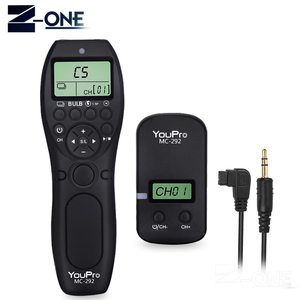 Image 1 - YouPro MC 292 S1 inalámbrico temporizador mando con control remoto de liberación para Sony A900 A850 A700 A580 A550 A950 A99 A77 A57 A55 A35 A33