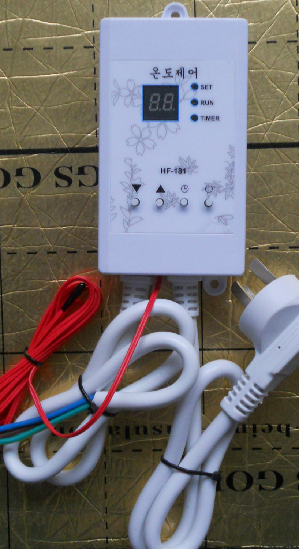 Silent electric film thermostat temperature controller electric hot plate electric kang electric ondol controller thermostat floor heating thermostat temperature control switch electric film thermostat electric geothermal uth 170r
