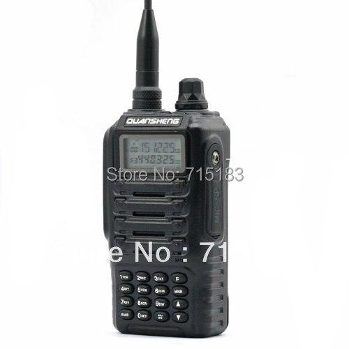 Freeship QuanSheng TG-UV2 Military Level Dual Band Dual Standby Dual Display Portable Two Way Radio With FCC CE Certification