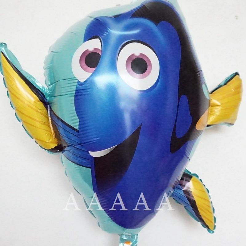 (2pcs/lot) Finding Nemo Globos Foil Finding Dory Balloons Kids Toys Birthday bal