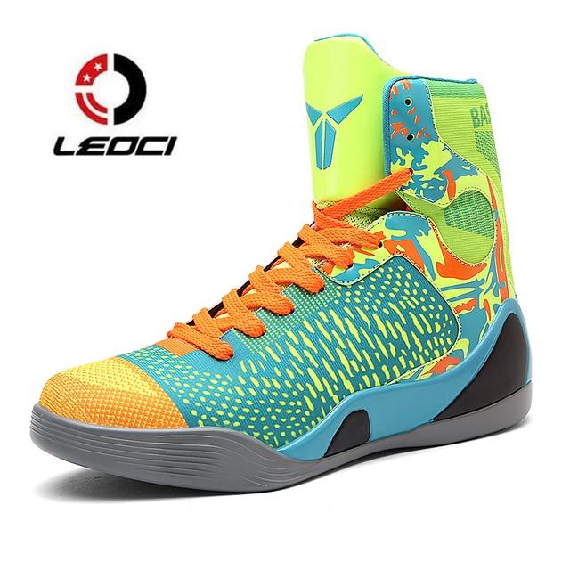 Hommes Basket de Sport High Hommes Ball Top Bottes Chaussures v1wxvd8