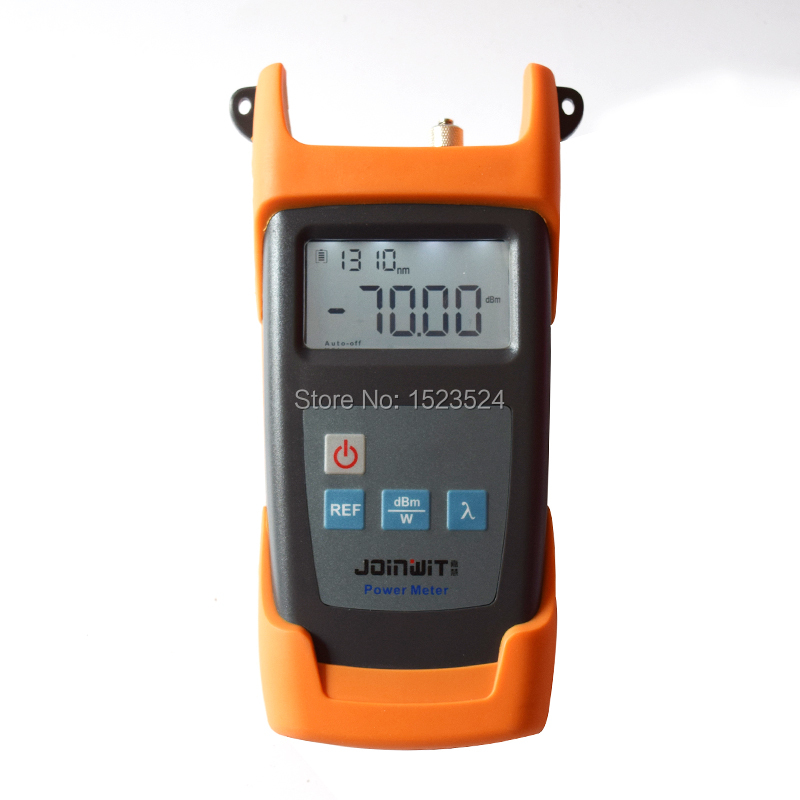 JW3211C Portable -50~+30dBm Fiber Optic Tester Optical Power Meter for CATV