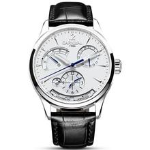 Оригинальный карнавал модные для мужчин часы Лидирующий бренд Универсальный автоматические часы мужские календари водостойкие светящиеся деловые