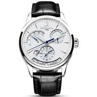 Original CARNIVAL Fashion Men Watch Top brand Multifunction Automatic Watch Men Calendar Waterproof Luminous Mechanical watches