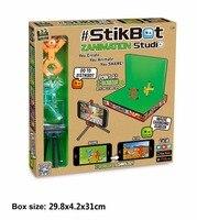 Stikbot Sucker Screen Studio DIY Sticky Robot Dog Studio Action Figure Toy Kids Game Toys For