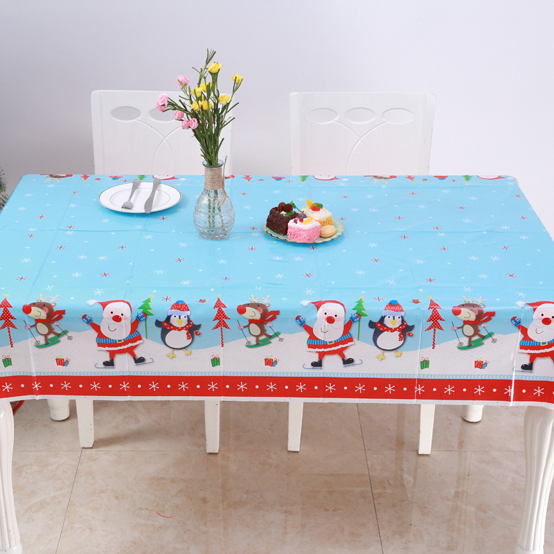 New Waterproof Arrival Winter Home Pvc Snowman Santa Claus Red