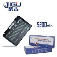 JIGU K50in 6 Cell Batterij Voor Asus K40/F82/A32/F52/K50/K60 L0690L6 a32-F82 K40in K40af K50ij