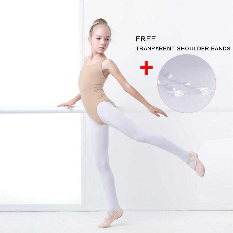 Niñas niños camisola desnuda leotardo Ballet ropa interior sin ...