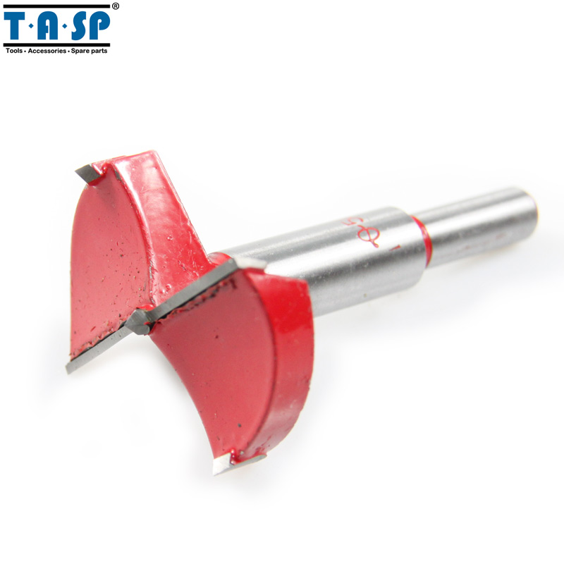 TASP 50mm Forstner Drill Bit Hole Saw Woodworking air condition water pipe contrete 50mm wall hole saw drill bit 200mm square rod
