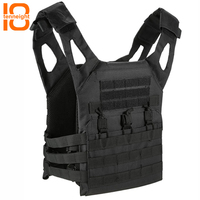 TENNEIGHT JPC molle tactical vest Amphibious Pockets Chest Carrier plate Military vest outdoor Paintball Loading Protective Vest