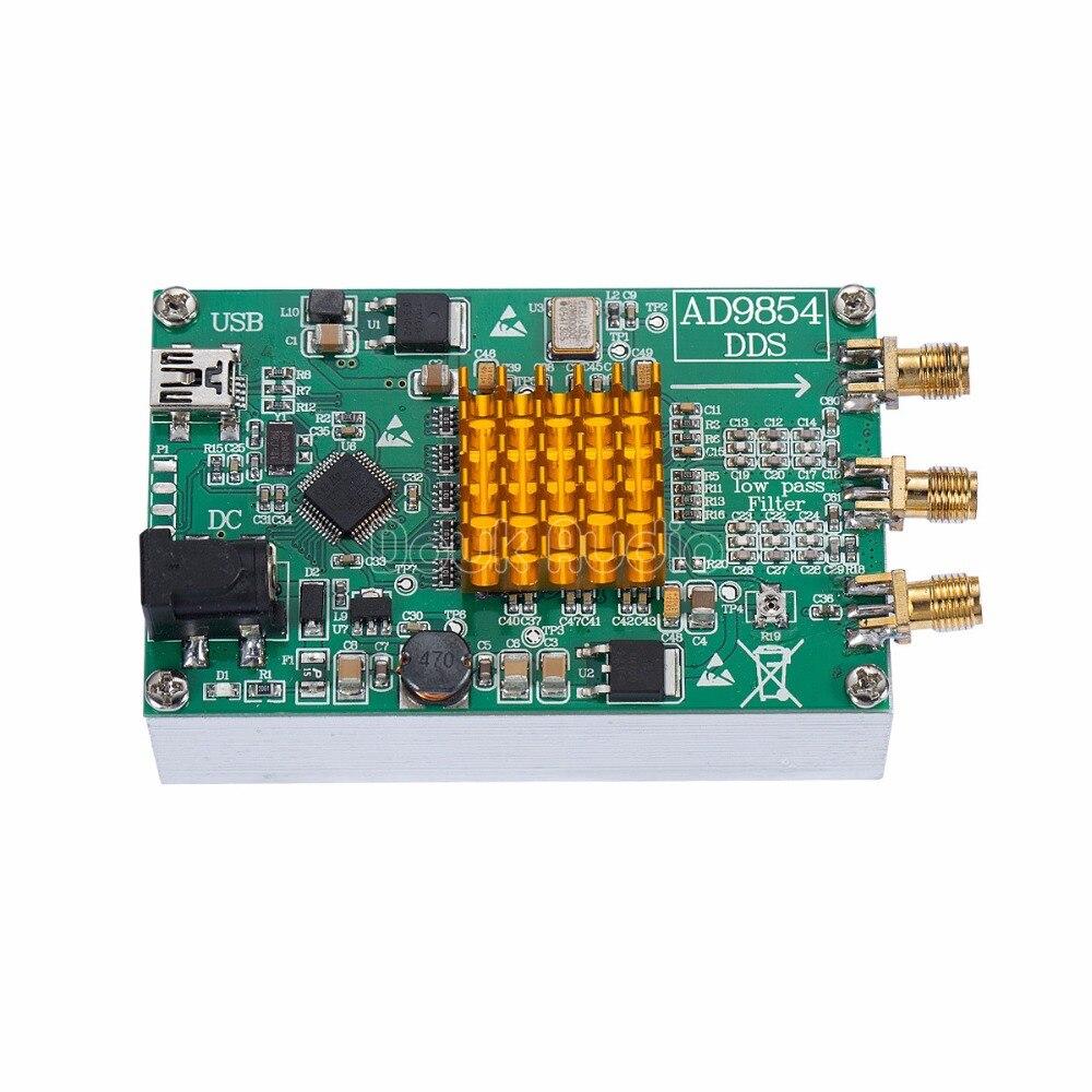 Douk Audio AD9854 DDS Signal Generator Module STM32 SCM / Heatsink /Master Computer Control douk audio ad9854 dds signal generator module stm32 scm heatsink master computer control