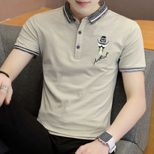 Golf Polo Shirts Men New Arrival Hot Sale Contrast Color Polos Male Cotton Brand Clothing Men's Polo Shirt Slim Fit Tops