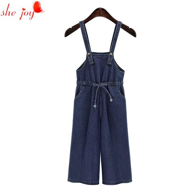 fce1ae2954 Plus rozmiar duże rozmiary 4XL damskie spodnie Denim luźne modne spodnie  kobiety kombinezony dżinsy dla kobiet