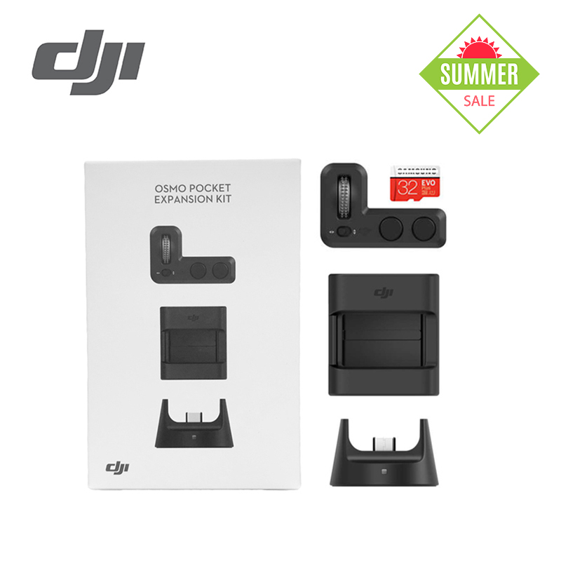 DJI Osmo Pocket Expansion Kit Portable versatile Precise gimbal control Wireless connection for remote control for