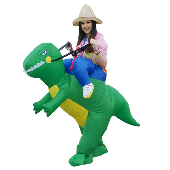Purim Holiday Carnival Costume Women Men Dinosaur Inflatable Costumes Dino Funny Party Animal Cosplay Halloween Costume for Kids