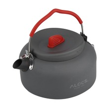 Alocs 7 Pcs Portable Camping Cookware Set