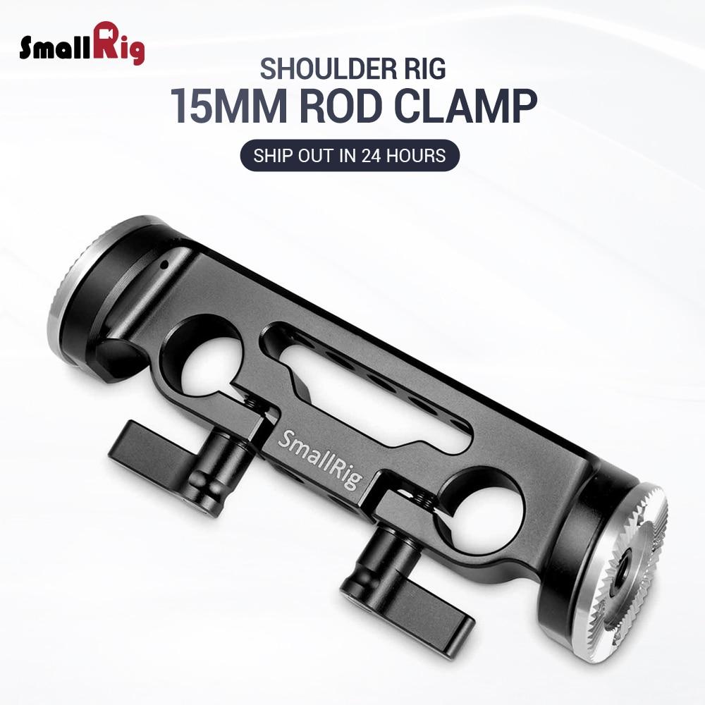 SmallRig 15mm Rod Clamp With 31.8mm Diameter ARRI Rosette - 1898