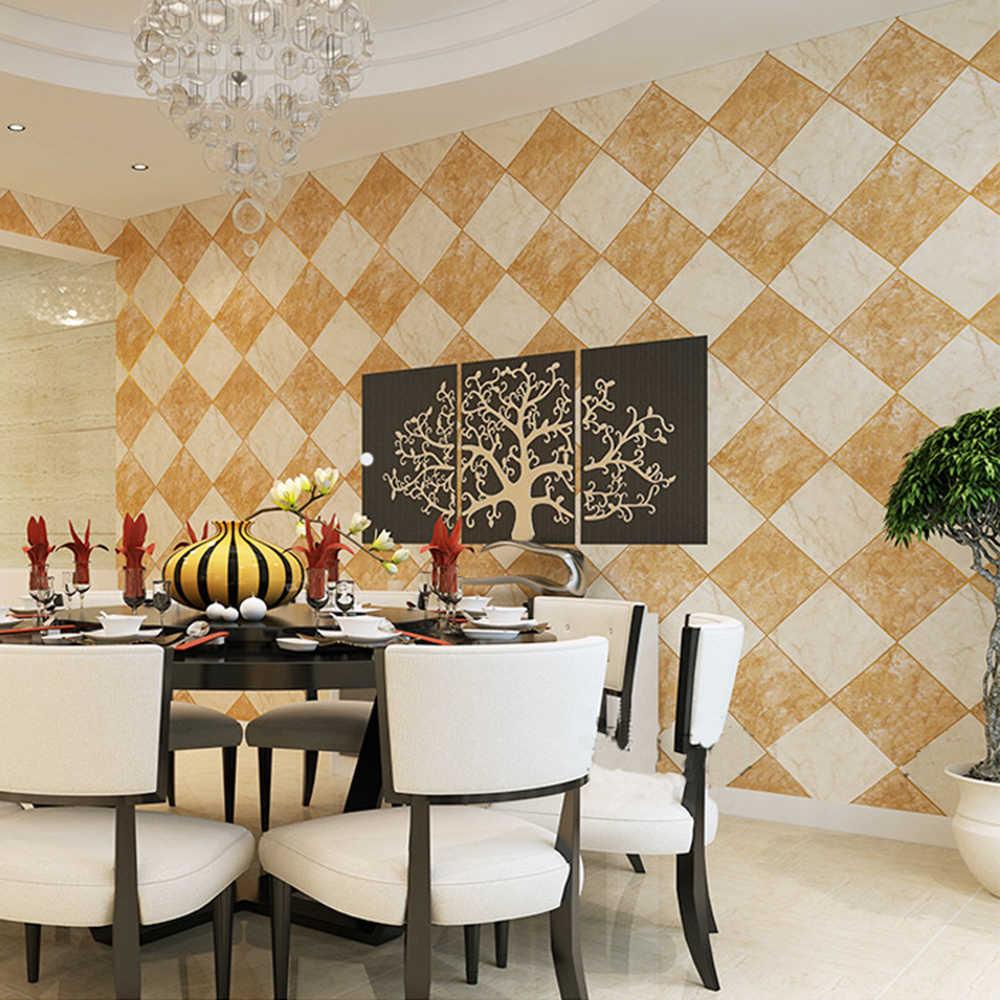 Papel pintado de PVC impermeable moderno de 1 M/5 M/10 M para pared de fondo de cocina papel de pared para decoración del hogar de dormitorio