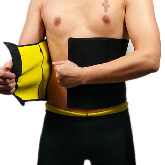 115a710776 CHENYE Men s Compression Body Shaper Belt hot sale Shapers Waist Trimmer  Belt Waist Trainer Slim Belts