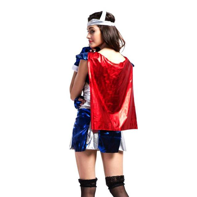 Thor Superheroes costume Carnival Halloween costume for women cosplay Anime costumes for adults women dress sexy costumes roupas  sc 1 st  Aliexpress & Online Shop Thor Superheroes costume Carnival Halloween costume for ...