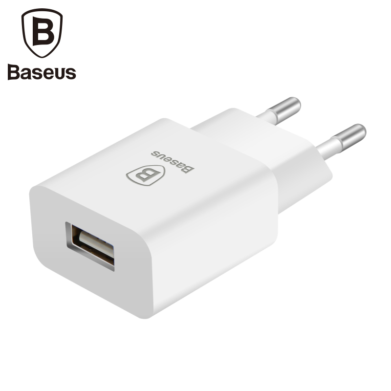 Baseus Adapter Usb-Charger Tablet Eu-Plug Mobile-Phone Universal Travel Xiaomi Smart