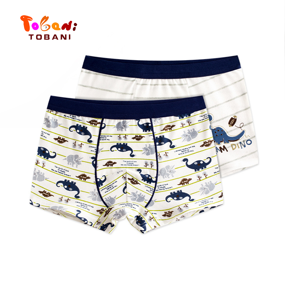 boys panties children underwear  triangle pure cotton boys underpants angle boys underpants baby shorts Tobani 2pcs 2