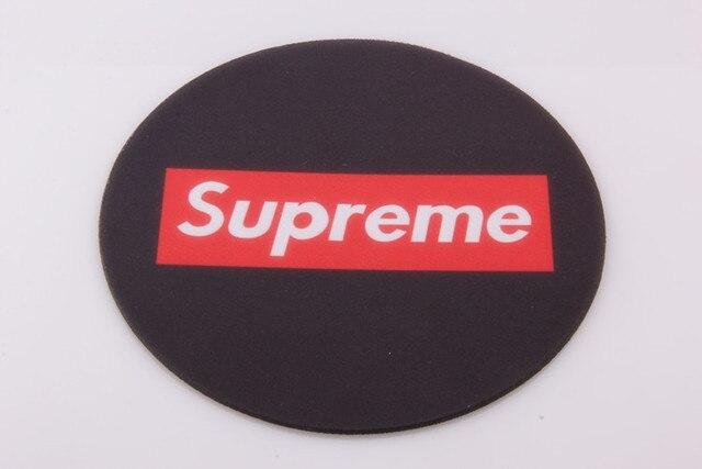 supreme circular mouse pad retail wholesales for optical trackball