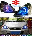 Suzuke Liana фар, 2005 ~ 2011 (Подходит для LHD & RHD), Бесплатные корабль! Лиана туман свет, 2 шт./se + 2 шт. Aozoom Балласт, Лиана