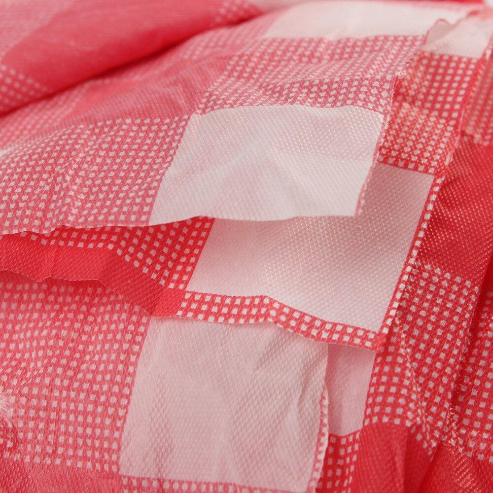 160 см * 160 см красный зонтик Пластик одноразовые салфетки проверьте скатерть вечерние Пикник Принадлежности для шашлыков одноразовые скатер...