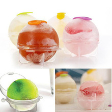 S/M/L Whiskey Cocktail Ice Balls Maker 4 Large Sphere Mold Silicone Ice Ball Maker Large Ice Ball Cube Ice Mold Maker